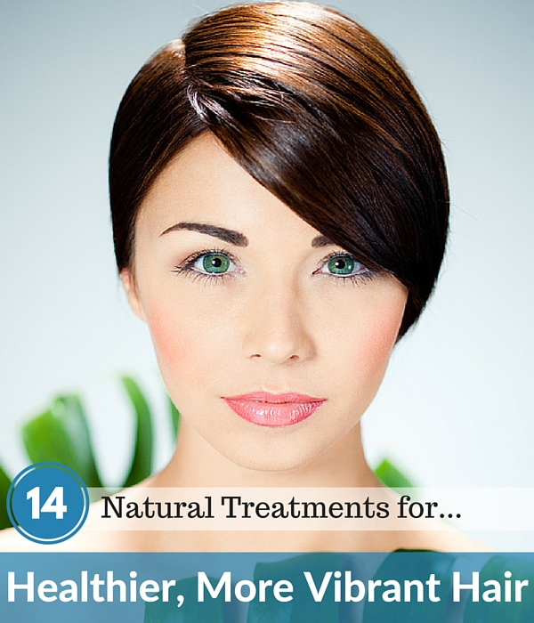 14 Natural Treatments for Healthier Hair