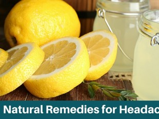Lemons and Lemon Juice for Natural Headache Relief
