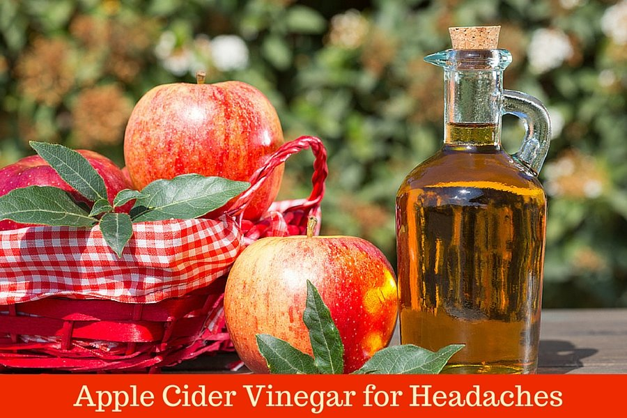 Apples and Apple Cider Vinegar in Bottle