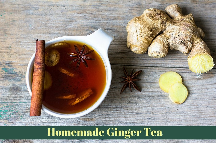 Homemade Ginger Tea Recipe for Headache Relief